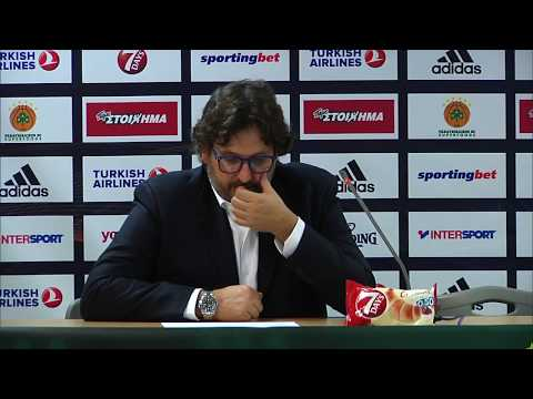 Euroleague Post - Game Press Conference: Panathinaikos Superfoods vs  Brose Bamberg