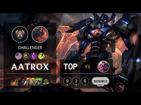 Aatrox Top vs Irelia - NA Challenger Patch 10.16