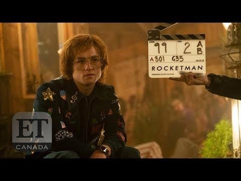 Dexter Fletcher, Giles Martin Talk 'Rocketman' Music, Costumes, Taron Egerton
