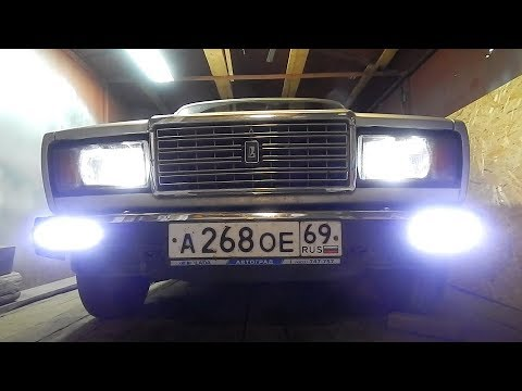 ДХО для ВАЗ 2107