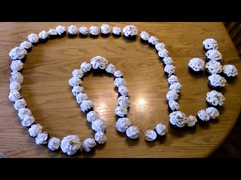 Cupcake Rosary Tutorial for First Communion