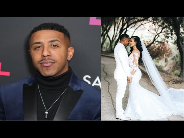 39 Year Old Marques Houston Marries 19 Year Old Miya Dickey In Private Ceremony