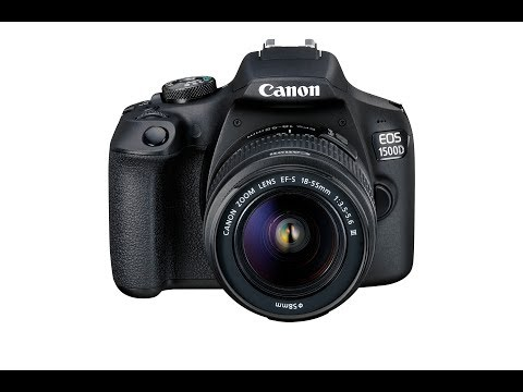 First Look:  Canon EOS 1500D DSLR Camera
