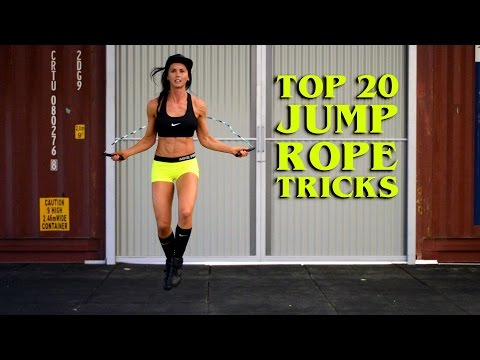 Jump Rope Tricks and Skipping Skills (Beginner) to (Advanced) Top 20