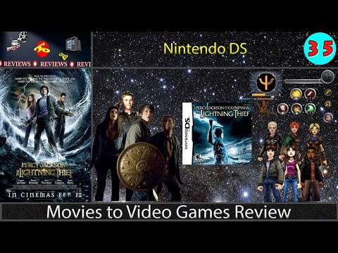 Movies to Video Games Review -- Percy Jackson & The Olympians: The Lightning Thief (Nintendo DS)