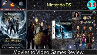Movies to Video Games Review -- Percy Jackson & The Olympians: The Lightning Thief (NDS)