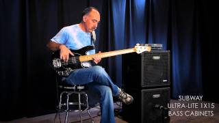 MESA® Subway® D-800™ Bass Amp & Ultra-Lite 1x15 – Sabre Bass Slap w/ Bobby Vega