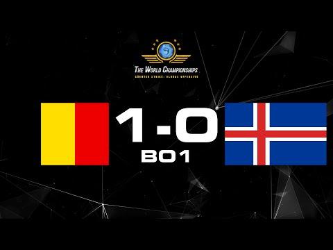 European Qualifier | Belgium 1-0 Iceland BO1 @Anishared