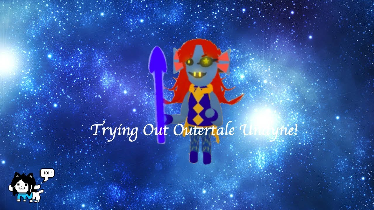 Undertale Survive The Monsters Trying Out Outertale Undyne :)