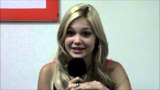 HTZ asks Olivia Holt to describe her Kickin