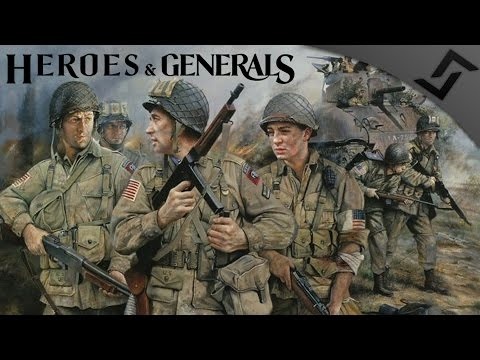 ParaPooper with a Johnson LMG - Heroes and Generals - US Airborne Gameplay