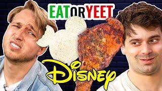 We Recreated Disney Parks Food?! (Eat It Or Yeet It)
