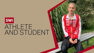 Simona Aebersold, on being a world orienteering championships medallist and student