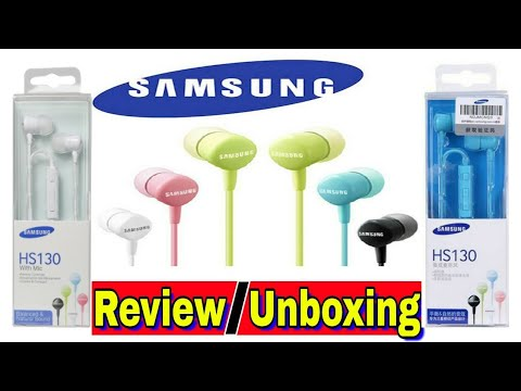 7d0f5d2be65 Samsung Hs130 headphone unboxing    PayTm service review - YouTube
