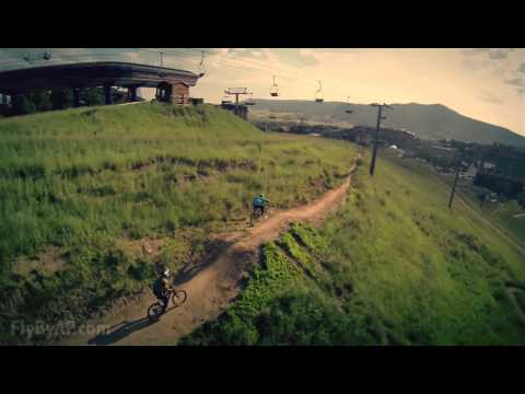Downhill Mountain Biking - Steamboat Springs, CO