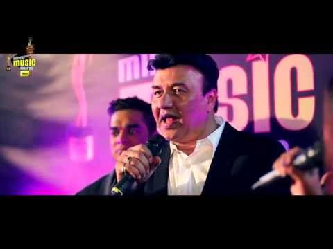 Anu Malik sings 'Yeh Kaali Kaali Aankhen' in