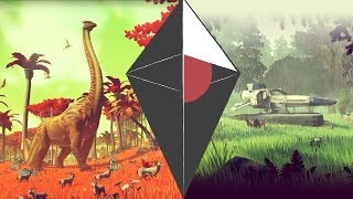 unveiling the gameplay of no man s sky the next big game