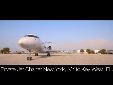 Private Jet Charter New York, NY to Key West, FL