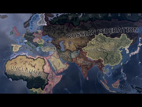If Germany Lost in 1940 - Hearts Of Iron 4 Timelapse