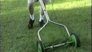 Reel Mower Blade Adustment- Demo Review