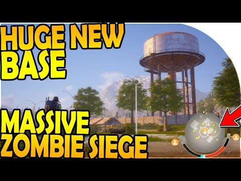 HUGE NEW BASE + UPGRADES - *MASSIVE* ZOMBIE SIEGE DEFENSE ( State of Decay 2 Gameplay Part 10 )