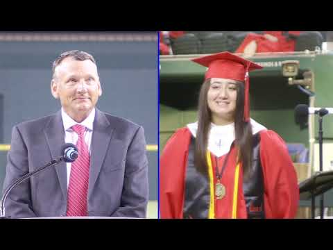 Burleson ISD's Burleson High School Class of 2020 Commencement Ceremony at Globe Life Field