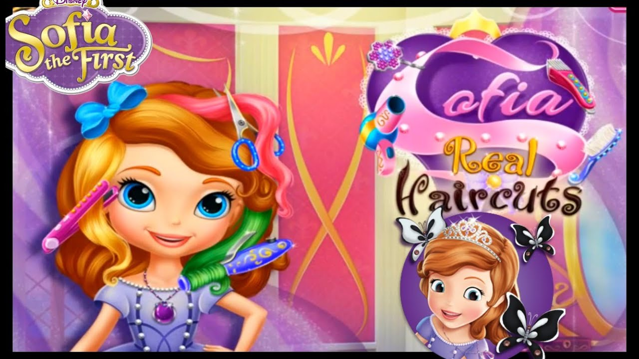 Hair Styles Games: Sofia The First Hairstyle