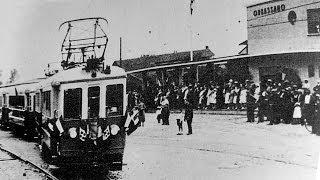 1945 Mitragliamento Trenino Torino-Giaveno a Orbassano