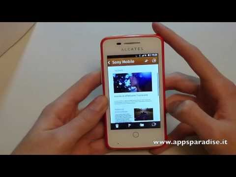Recensione Alcatel One Touch Fire ita by AppsParadise