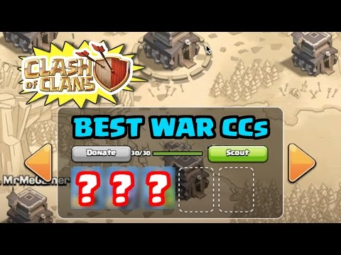 BEST War CCs For Town Hall 9 | What To Put In Your War CC | Clash Of Clans