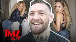 Is Conor McGregor Dissing or Complimenting Khloe Kardashians Big Booty? | TMZ TV