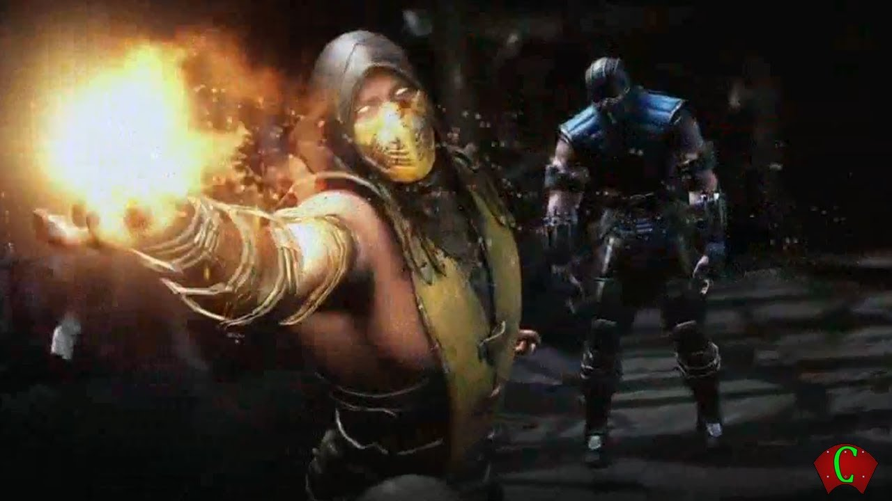 Scorpion 3d Live Wallpaper E3 2014 Trailers Mortal Kombat 10 Gameplay Trailer With