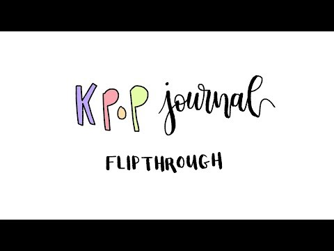 the worst kpop journal flipthrough ever pls don't waste 8 minutes of your life