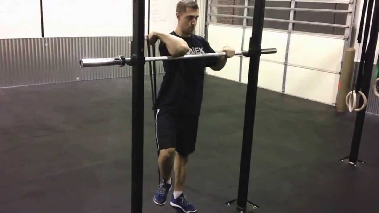 Best Mobility Exercises To Fix The Front Rack For Cleans Squats And Overhead Pressing You