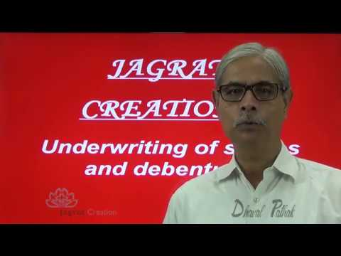 Corporate  Accounting,Underwriting of shares Lecture  4