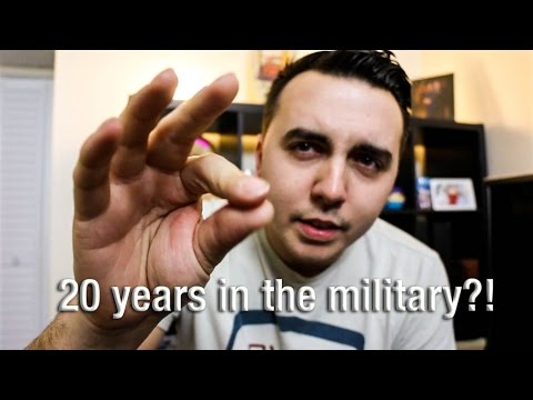 Should you do 20 years in the military?!