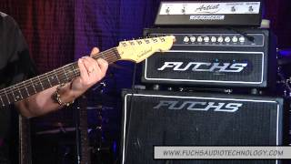 Andy Fuchs Demos the  Fuchs Full House 50 Amplifier w/Telecaster