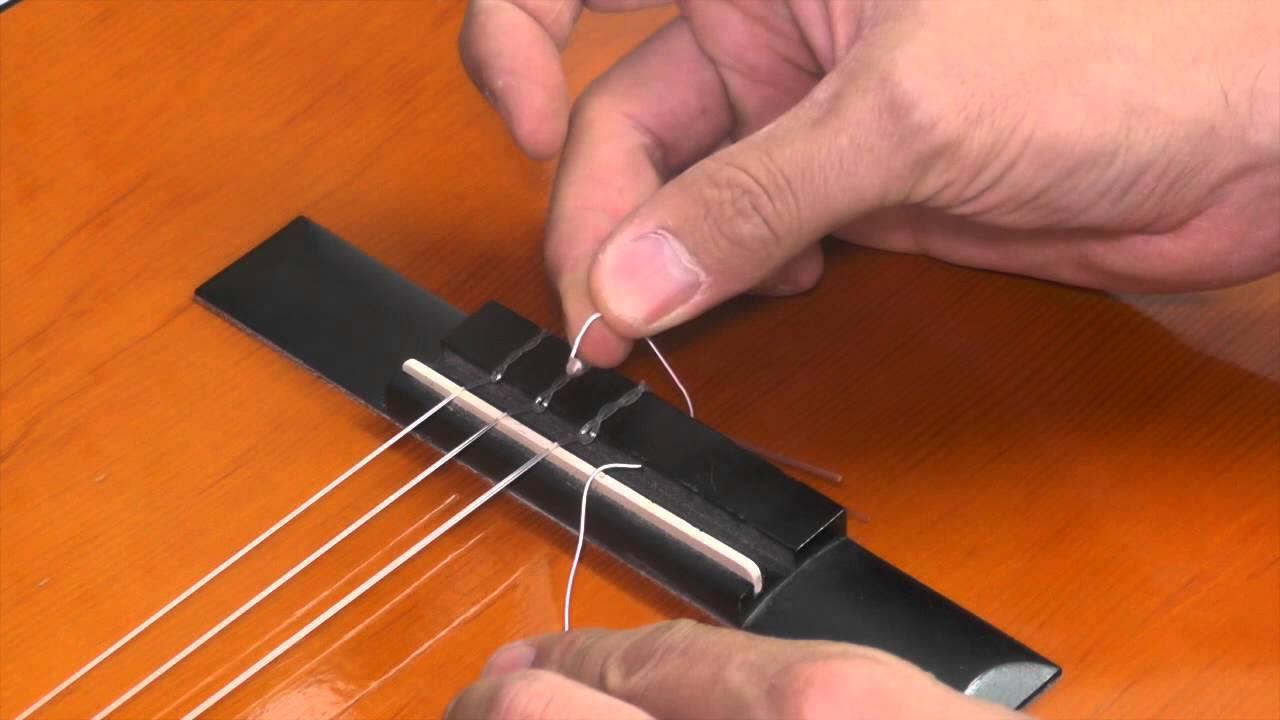 החלפת מיתרים בגיטרה קלאסית-כלי זמר אילת
