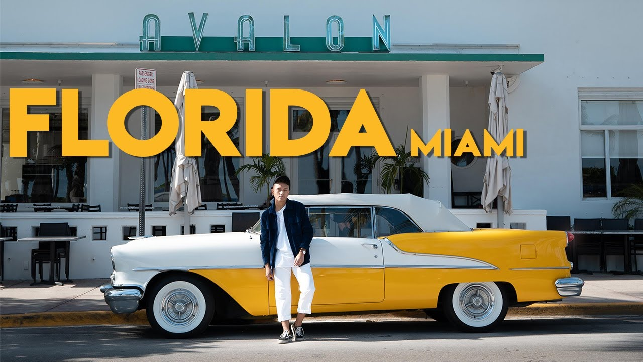 Beautiful Miami, Florida   Cinematic Travel Video   Top 3 Day Travel Guide Video 2020