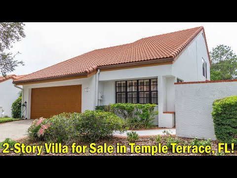 2-Story Villa For Sale In Temple Terrace, Florida