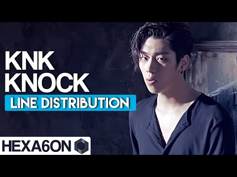 KNK - Knock Line Distribution (Color Coded)