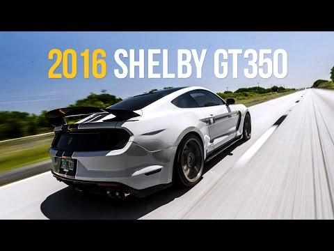 The First 2016 Shelby GT350 on Air | e-Level Equipped