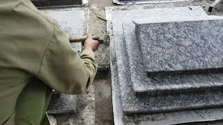 Xem thợ Quê  ốp mái mộ rất khoa học