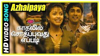 Kadhalil Sodhappuvadhu Yeppadi Scenes | Azhaipaya Song | Siddharth and Amala Paul become friends