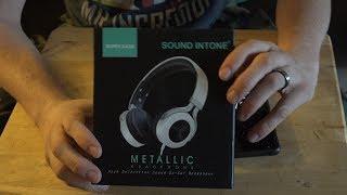 Sound Intone Headphones Unboxing (Under 20 Dollars!)