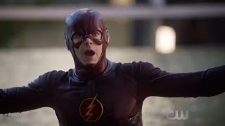 The Flash 5x01 Barry gets mad at Nora