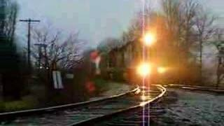 Indiana RailRoad Local Northbound Freight