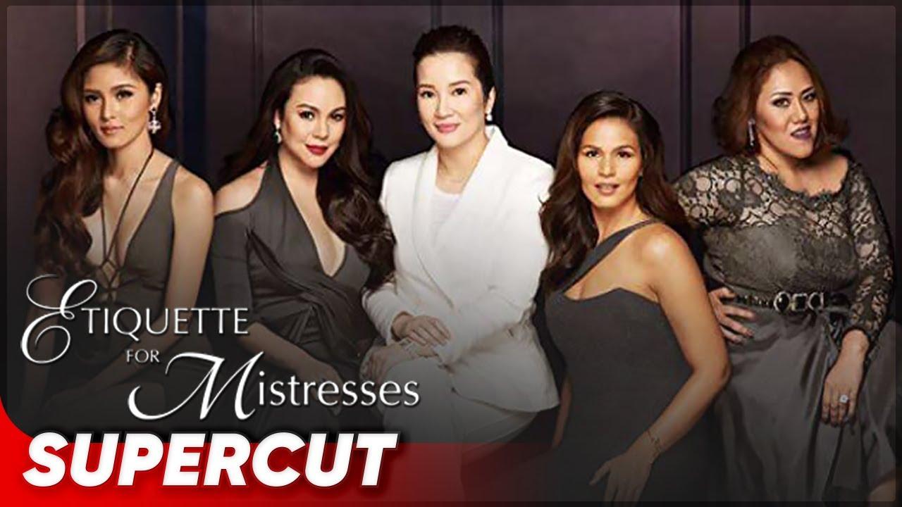 Etiquette For Mistresses Kim Chiu Kris Aquino Claudine Barretto Iza Calzado Cheena Supercut Youtube