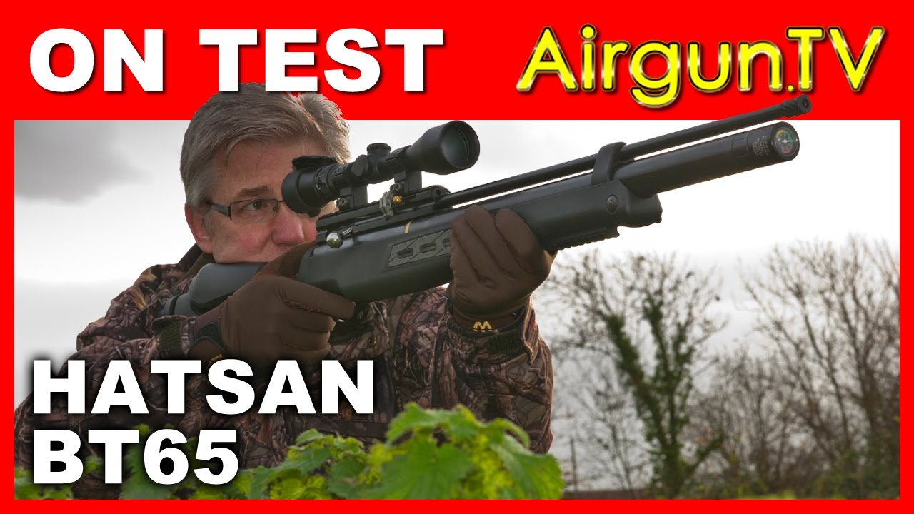 REVIEW - Hatsan BT65 Air Rifle 10-shot