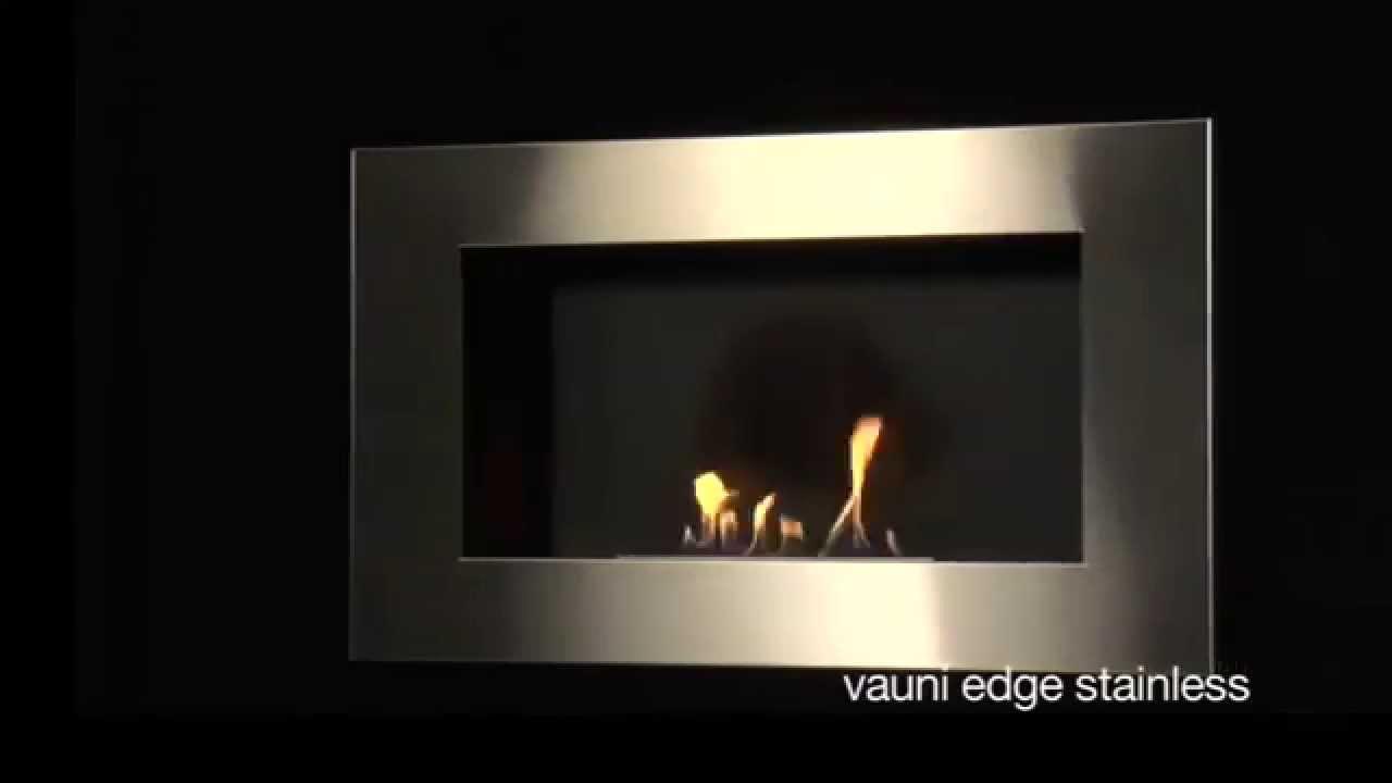 Vauni Shadow Edge Bioethanol Kamin Youtube